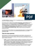 Armas química y biologicas