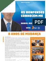 Jornal de Campanha   PSD Ronfe - 2009