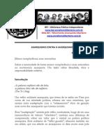 Anarquismo Contra o Anarquismo - Rafael v. Da Silva - Bpi