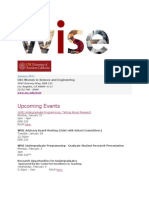 WISE Newsletter January 2013.docx