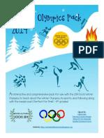 winter olympics pack 2014
