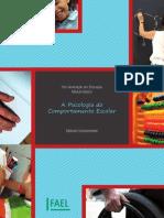 Pós-Graduação em Educação(Módulo Básico) - A Psicologia do Comportamento Escolar (Material Complmentar)