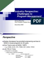 Programme Management