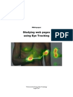Tobii Whitepaper Studying Web Pages Using Eye Tracking
