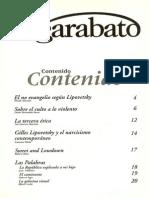 La Tercera Etica. El Garabato No. 11