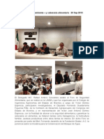 Fotos Foro Agricultura y Ambiente 20 Sep 2013 Rueda de Prensa Del Foro