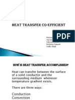 Heat Transfer Co-efficient CE