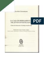 Letourneau Jocelyn La Caja de Herramientas Del Joven Investigadorcapitulo 1