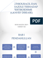 Referat Propylthiouracil Dan Methimazole Terhadap Hipertiroidisme