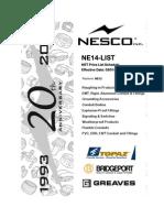 NE14 (2013).List (2)