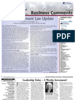 Business Comments January 2014