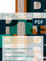 purpose - lesson 6