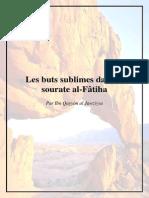 Les Buts Sublimes Dans La Sourate Al Fatiha