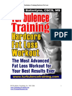Ballantyne Craig Turbulence Training Hardcore Fat Loss Workout