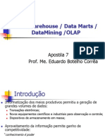 Data-warehouse Datamarts Datamining Olap Apostila-7
