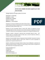 TRATAMENTO DE ESGOTO DE UNIDADE DE ENSINO SUPERIOR POR MEIO DE SISTEMA DE ZONA DE RAÍZES