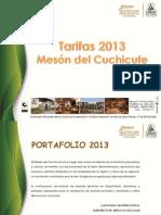 Portafolio Meson 2013