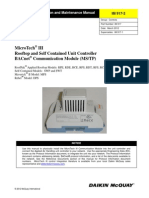 MicroTech III - Rooftop and Self Contained Unit Controller - BACnet Communication Module MS TP - IM_917-2.pdf