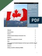 Canada Job Sponsorship Plus Job Interview Guide