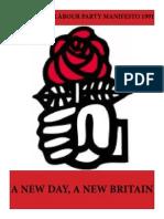Democratic Labour Party Manifesto 1991
