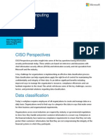 CISO Perspectives Data Classification