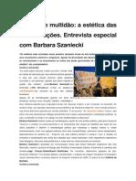 Monstro e multidão - a estética das manifestações (Barbara Szaniecki)