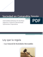 Sociedad en Comandita Simple