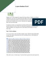 3 Nuevos Consejos Para Dominar Excel