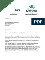 Watson, Pedneaud-Jobin letter to PM