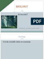 CSEC BIOLOGY- Ecological studies
