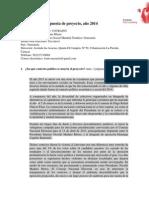 Formato Propuesta de Proyectos Contrapartes