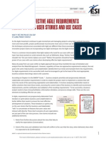ESIViewpoint Developing Effective Agile Requirements