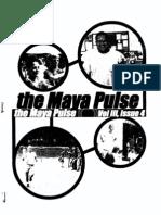 The Maya Pulse - Volume 3, Issue 4