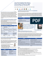 Technology Tools for Qualitative Data Collection in Instructional Design and Technology (IDT)
