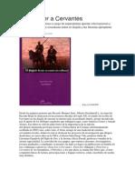 Susana Artal - Para Releer a Cervantes.