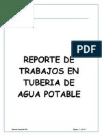 Informe Agua Potable