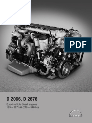 Diesel Engines for Vehicles D2066 D2676 | Fuel Injection | Diesel Engine