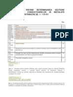 Metodologie dimensionare economica 1- 110kV