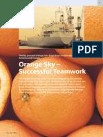 Orange Sky e