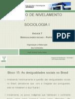 Projeto de Nivelamento - Sociologia I - Unidade 7 - 15. as Desigualdades Sociais No Brasil