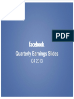 Facebook Earnings slides