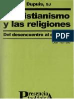 Dupuis Jacques El Cristianismo y Las Religiones