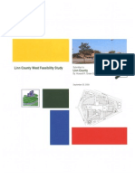 Linn County West Feasibility Report 092209