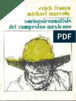 Fromm Erich - Sociopsicoanalisis Del Campesino Mexicano (Scan)