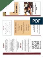 Mark Skinner Brochure