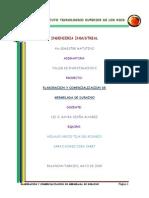 Proyecto. Elaboracion y Comercializacion de Mermelada de Durazno