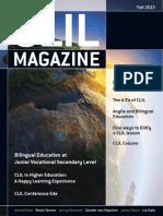CLIL Magazine Fall 2013