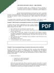 CONTRASTES DE REDAÇÃO ENTRE PORTUGUÊS E INGLÊS