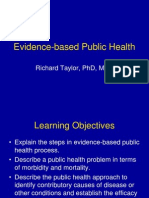 Evidence-Based Public Health (1)