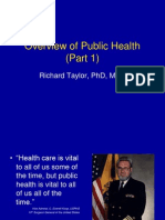 Overview of Public Health—Part 1 (2)
